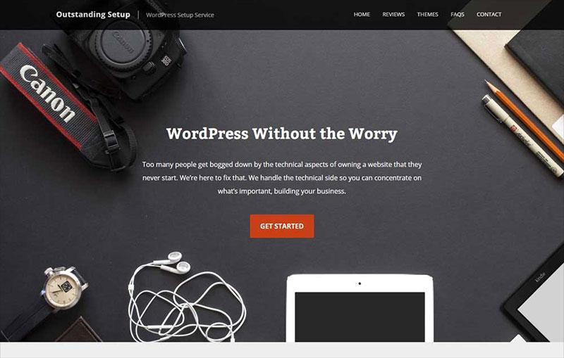 Outstanding Setup - WordPress Setup