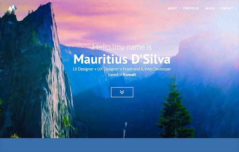 UI/UX Designer Porfolio Website