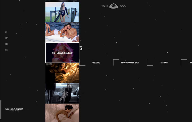 Video Website Gallery by FGN