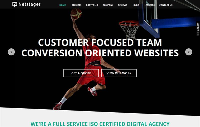 Netstager - Web Design India