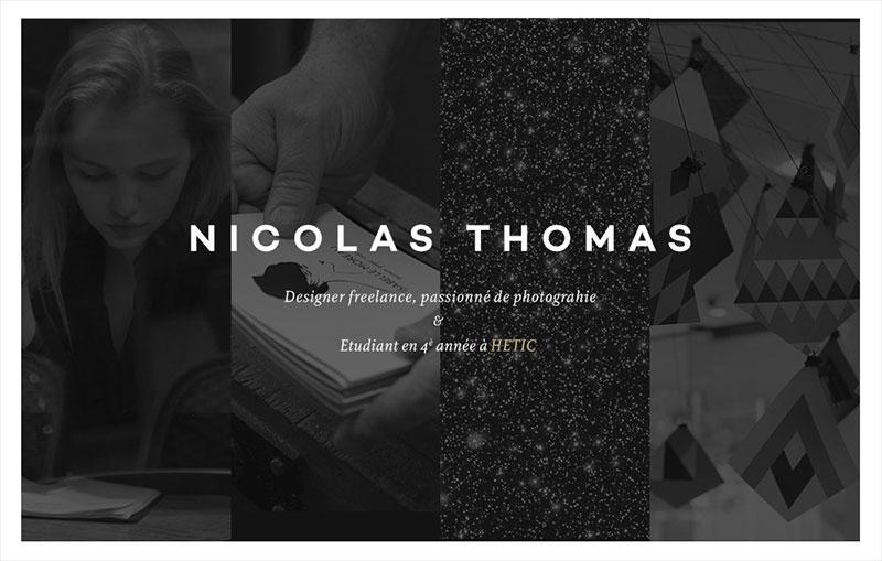 Nicolas Thomas - portfolio