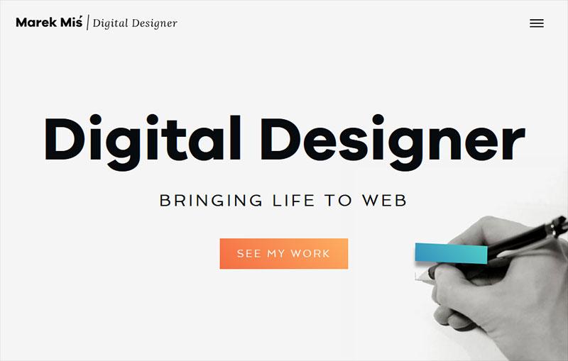 Marek Mis | Digital Designer