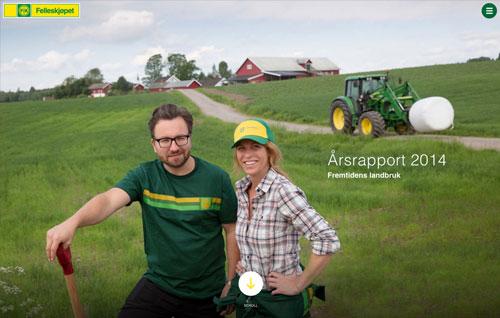 Annual report for Felleskjøpet