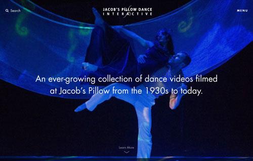 Jacob's Pillow Dance Interactive