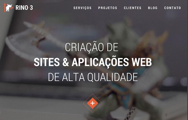 Rino3 Desenvolvimento Web