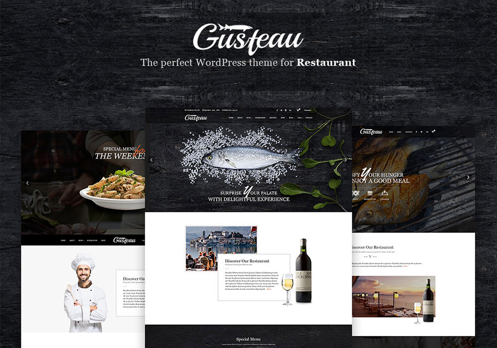 Gusteau WordPress Theme