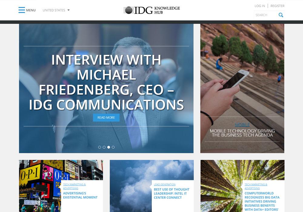 IDG Knowledge Hub