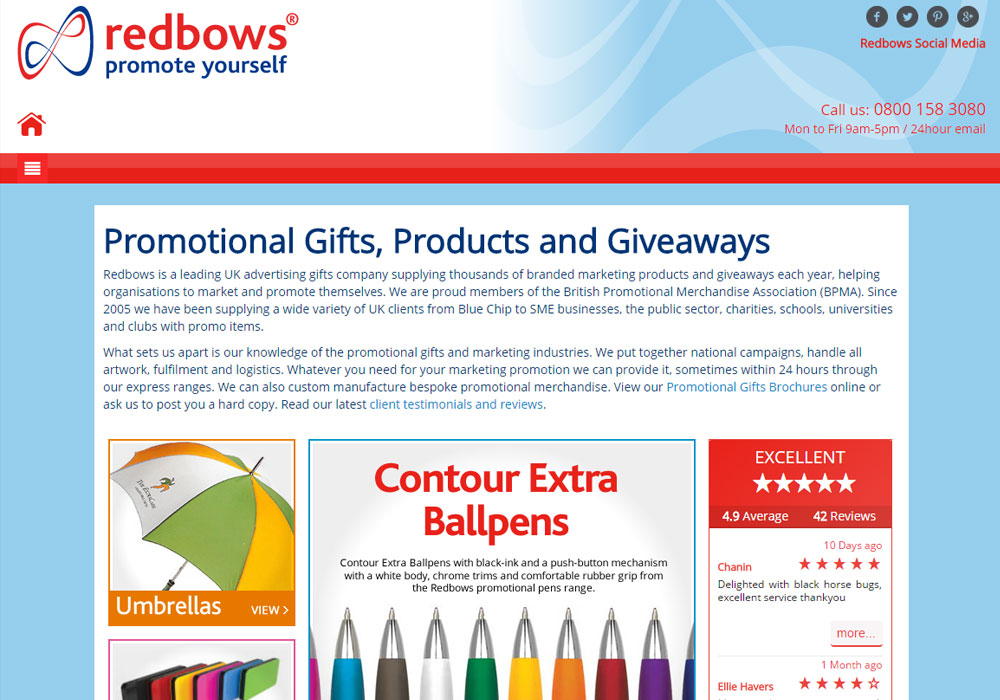 Redbows Marketing Gifts
