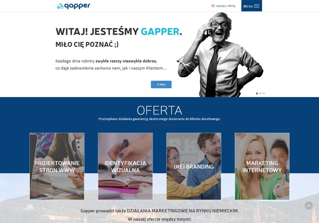 Gapper Agencja Webdesing