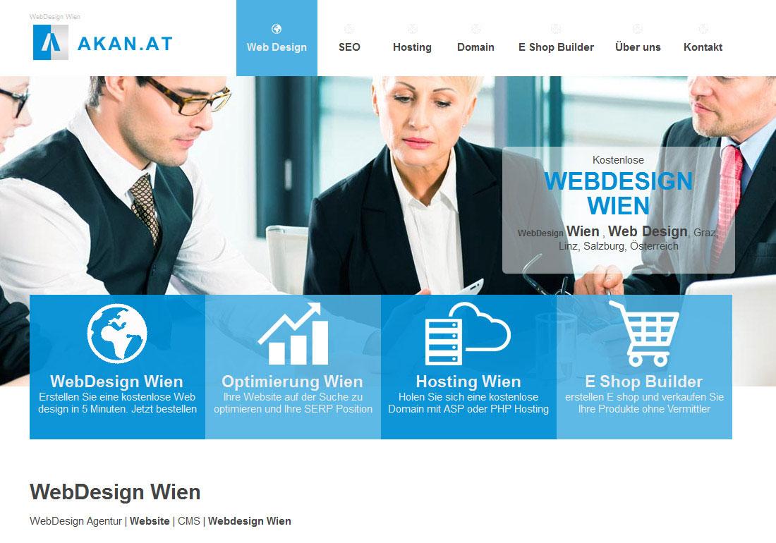 Akan Webdesign Wien