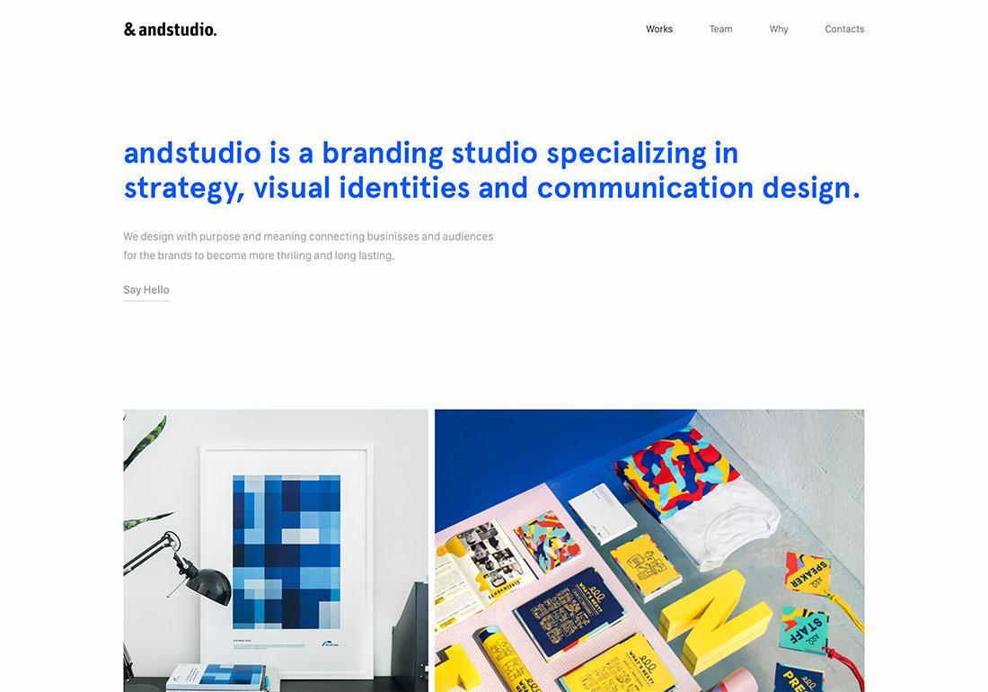 andstudio portfolio