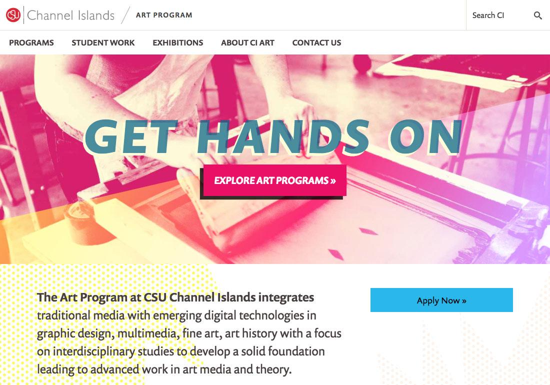 CSU Channel Islands Art Program