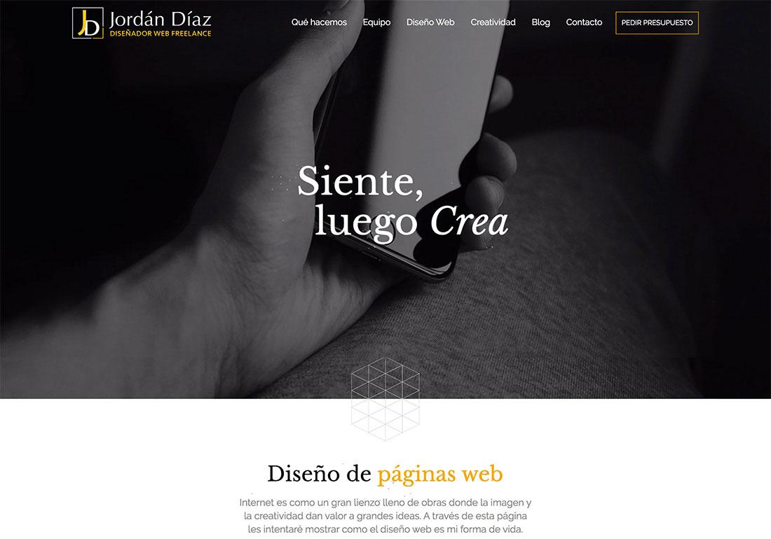 Jordán Díaz - Diseño Web Freelance