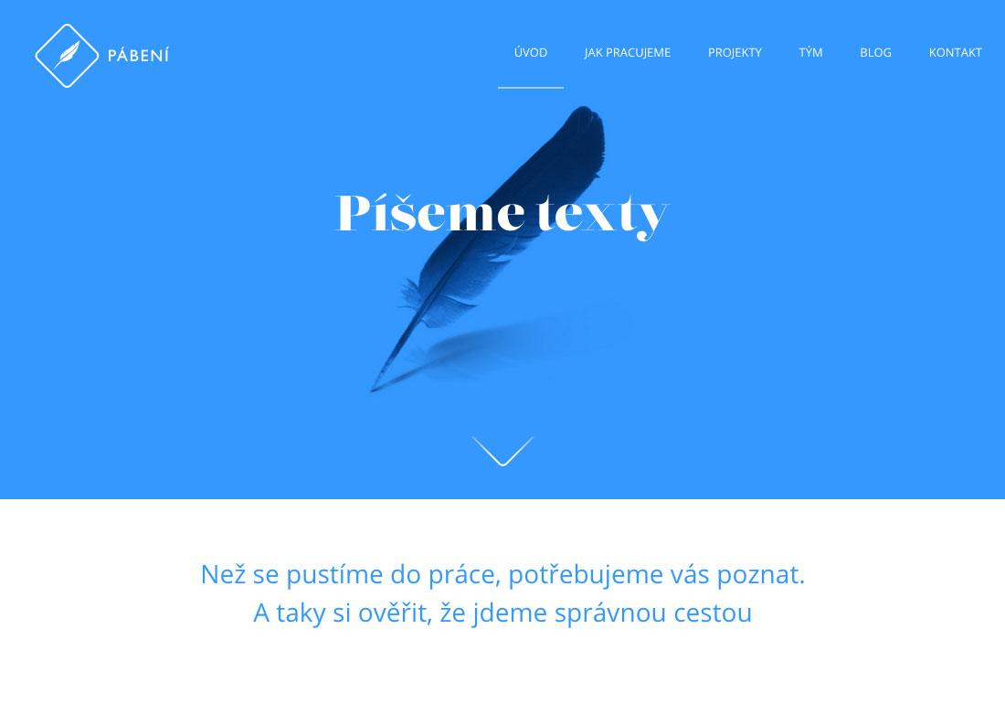 Pábení - Content for your website