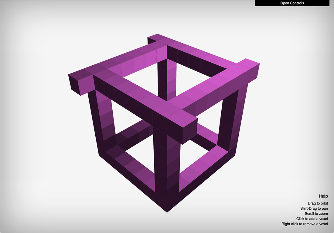Voxel CSS • 3D Rendering Engine