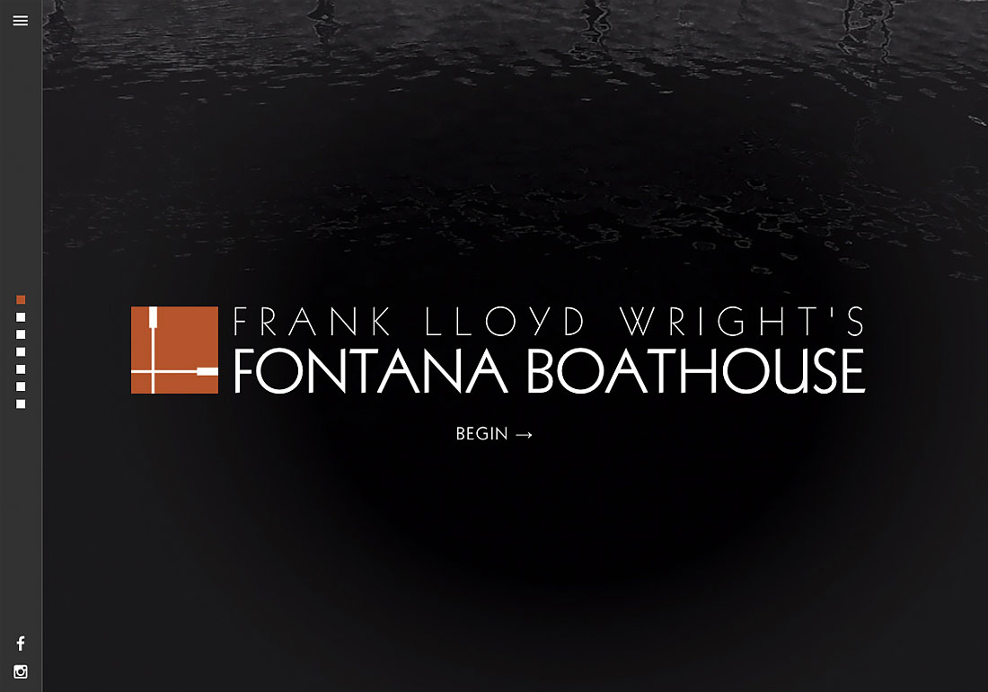 Frank Lloyd Wright Boathouse