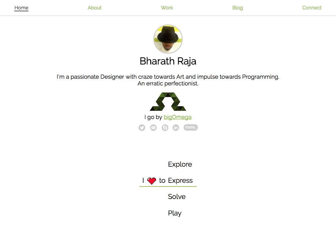 Bharath Raja - bigOmega