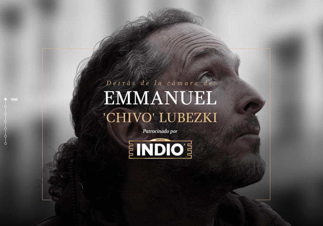 Lubezki + INDIO