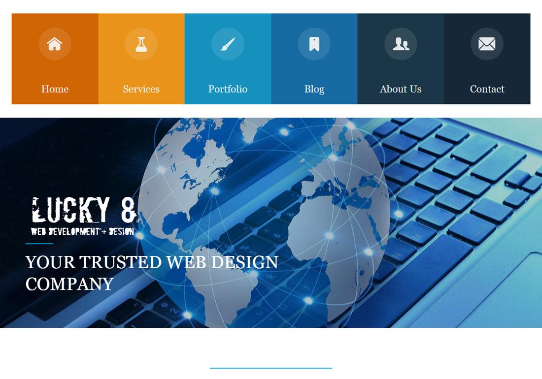 Lucky8 Web Design
