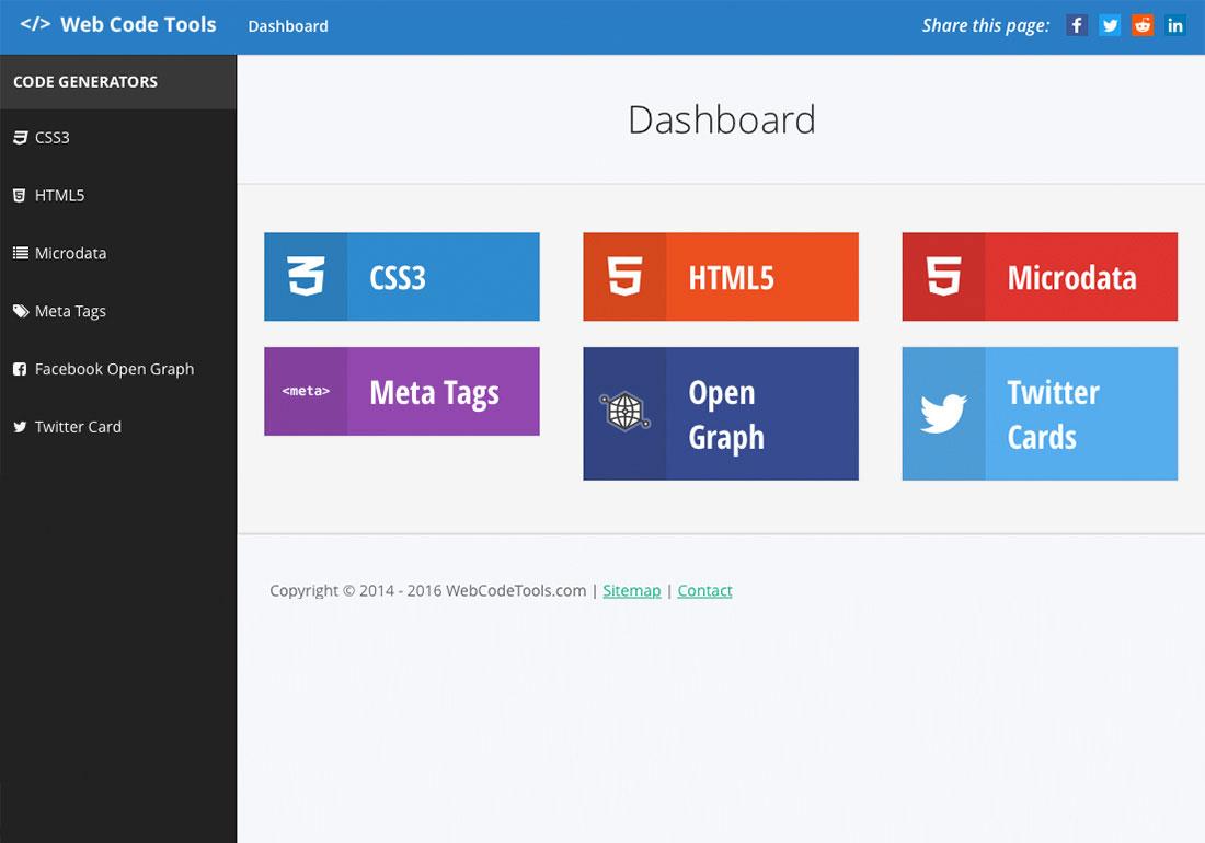 Web Code Tools