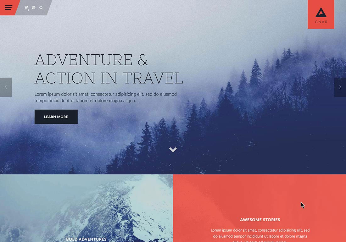 Gnar - Action, Adventure & Travel