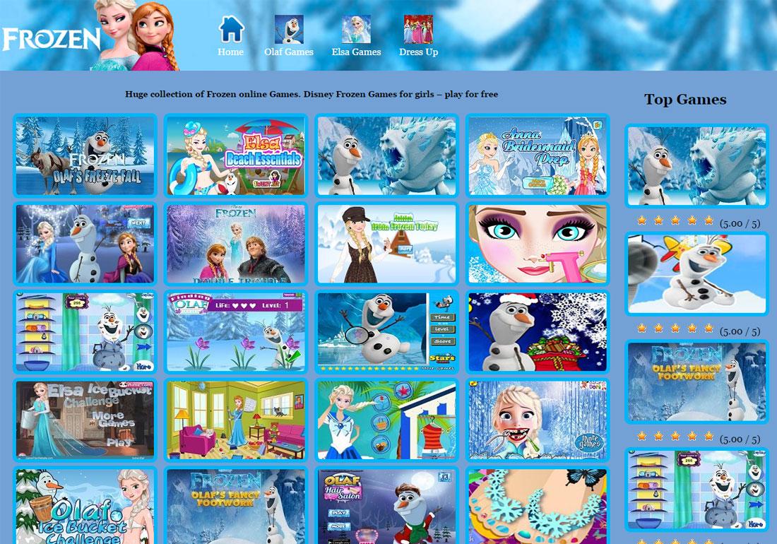 Frozen Games Fan