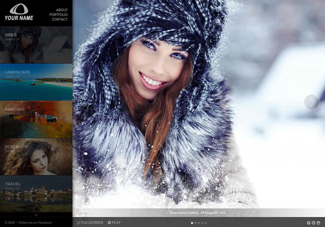 Premium Photo Portfolio Template