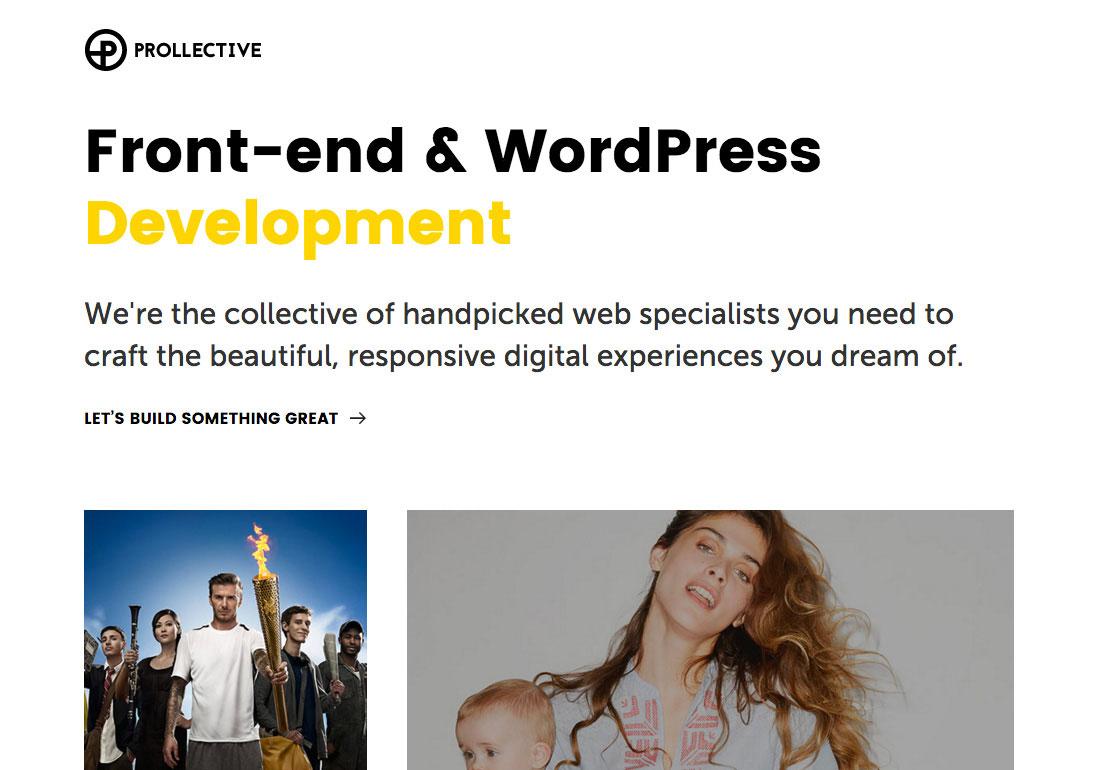 Front-end & WordPress Development