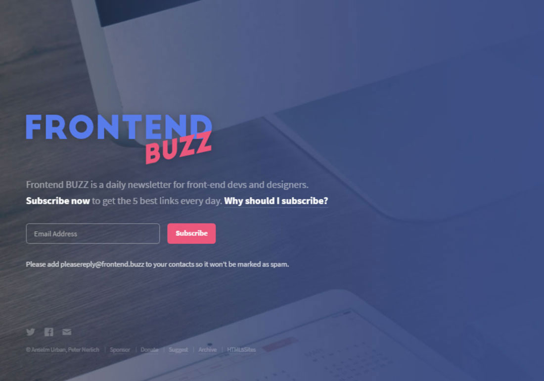 Frontend BUZZ