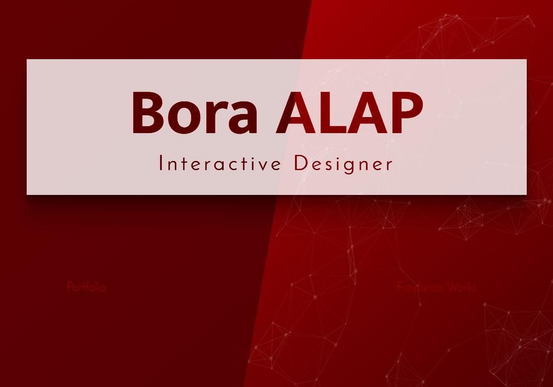 Bora ALAP Portfolio Site