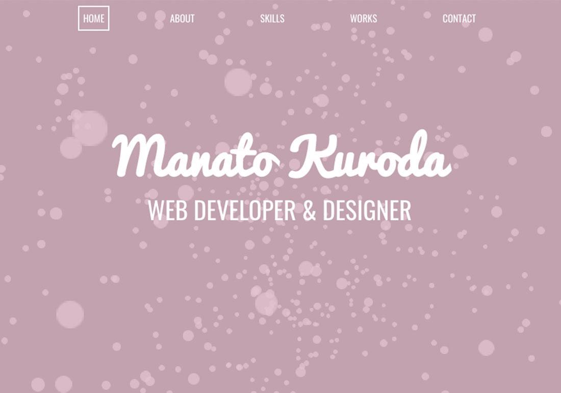Manato Kuroda Portfolio