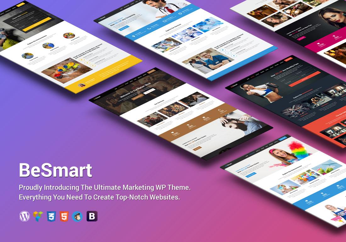 BeSmart - Premium WordPress Theme