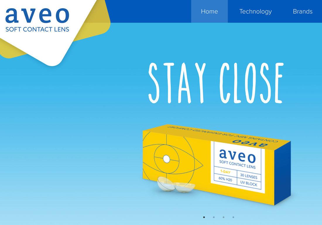 AVEO Vision Contact Lenses