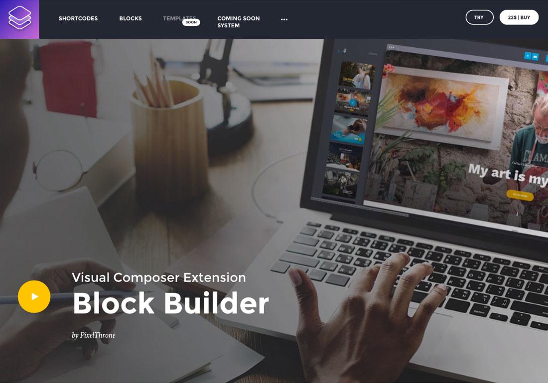 Visual Composer Extension - Block B