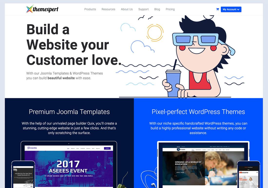 ThemeXpert Website