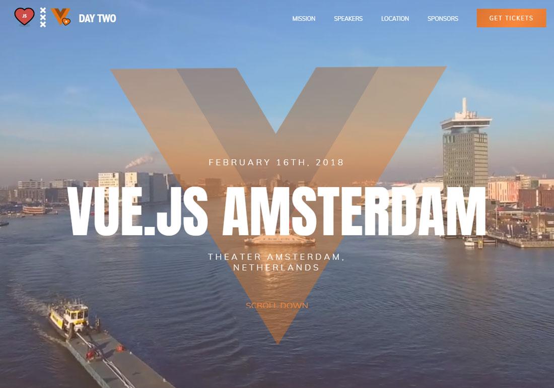 Vuejs Conference Amsterdam
