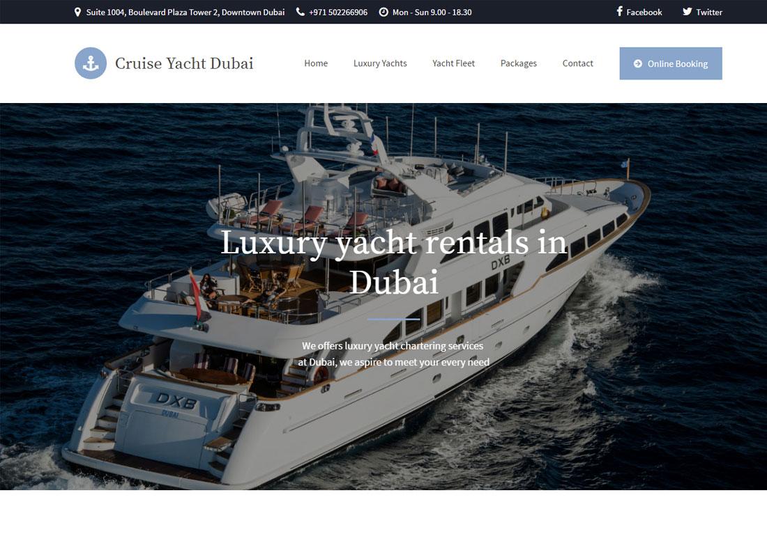 cruiseyachtdubai.com