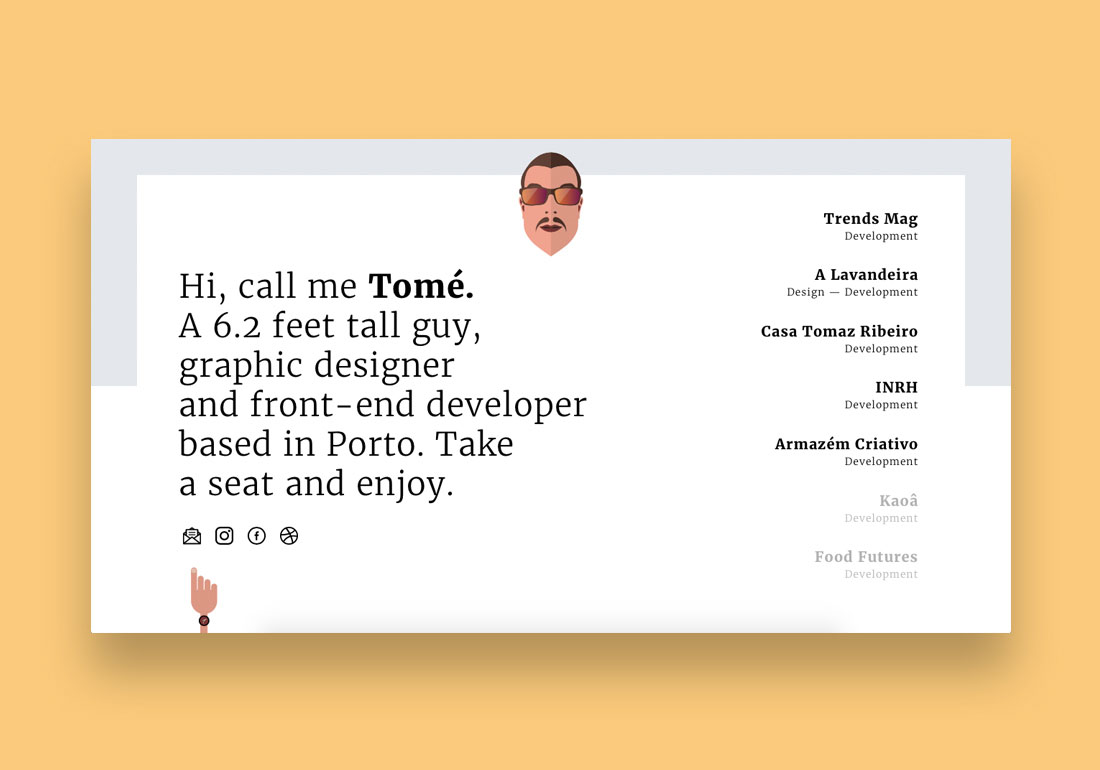 Bruno Tomé — Front-End Developer