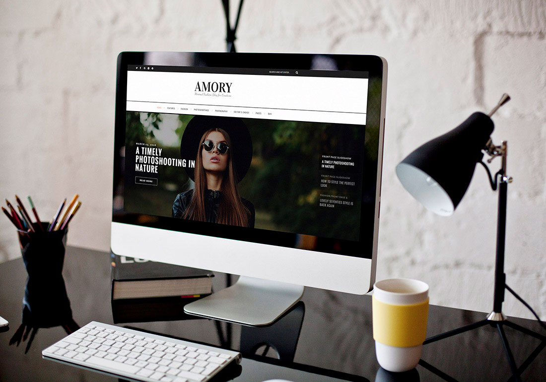 Amory - A Responsive WordPress Blog