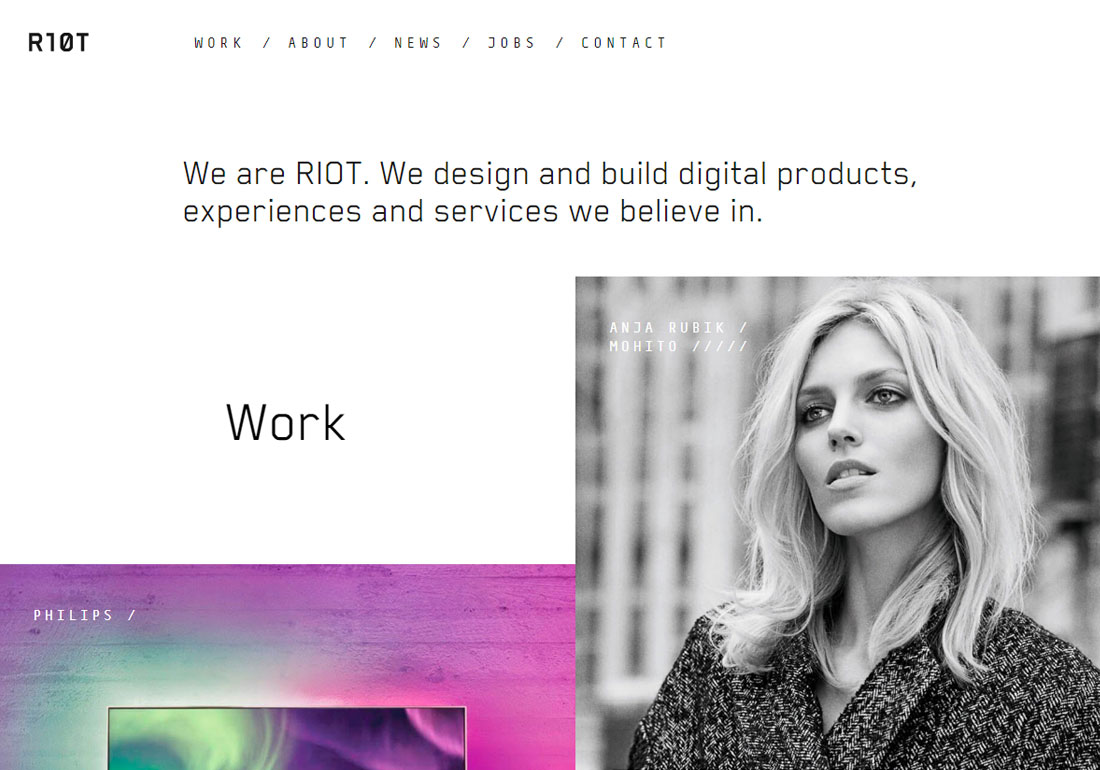 RIOT digital product agency
