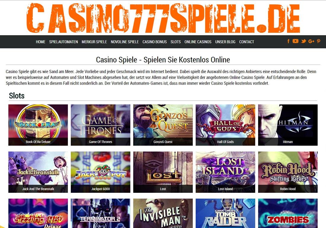 Casinospiele kostenlos spielen ohne