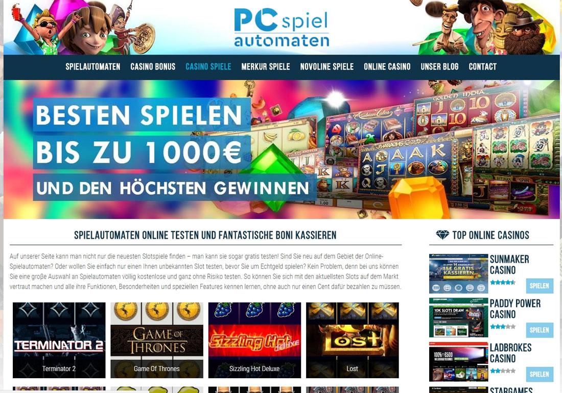 Spielautomaten Online - Die besten