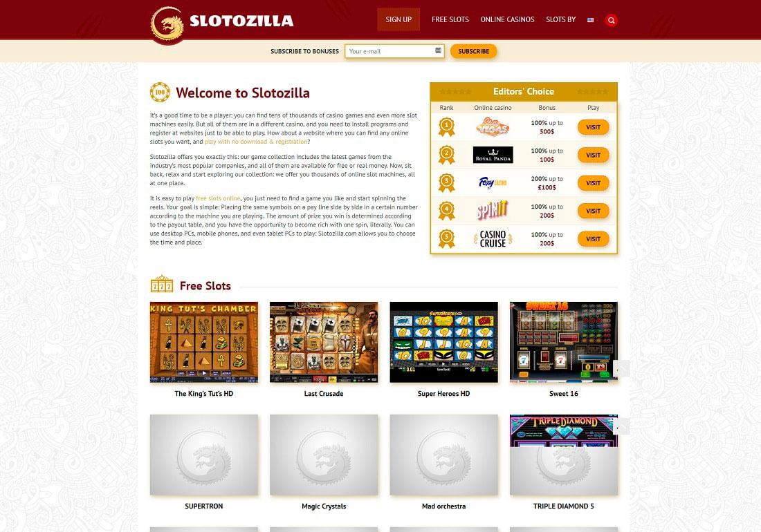 Slotozilla online slots