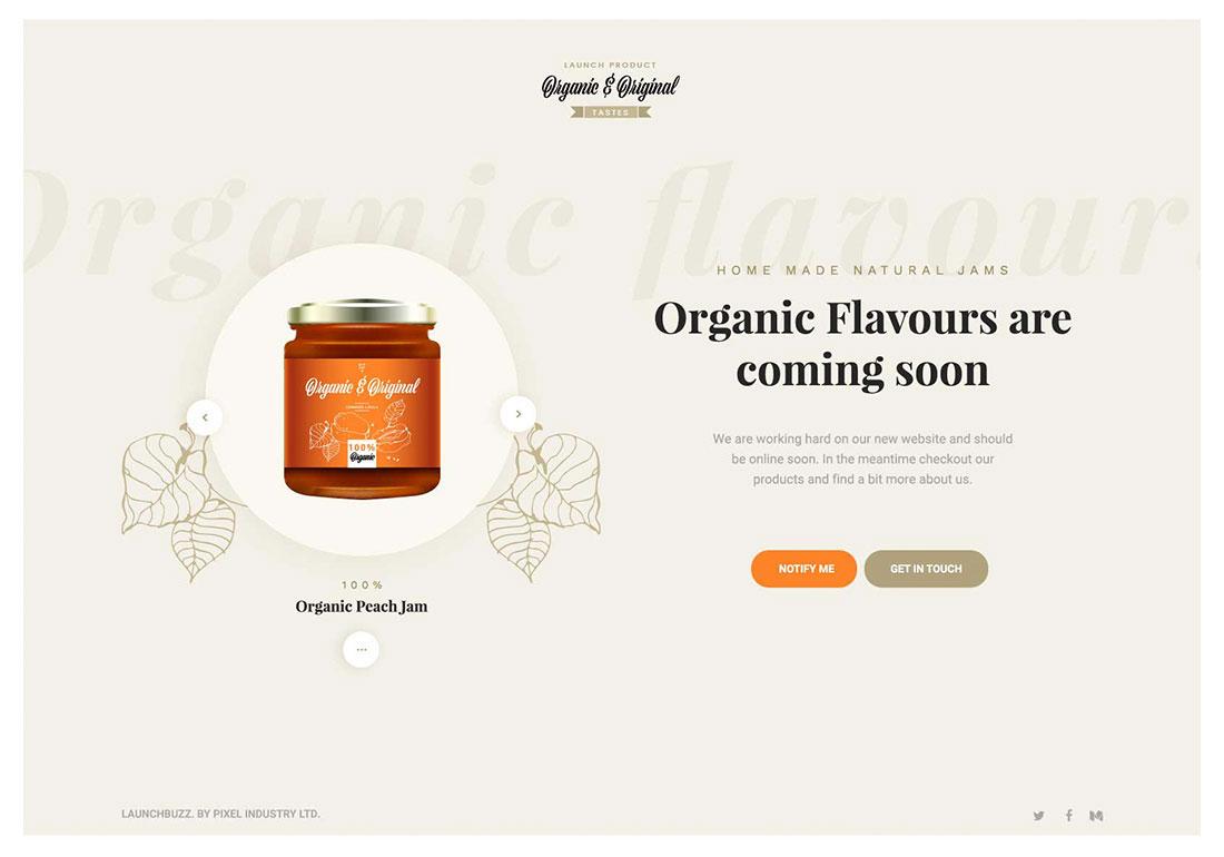 Organic & Original Tastes