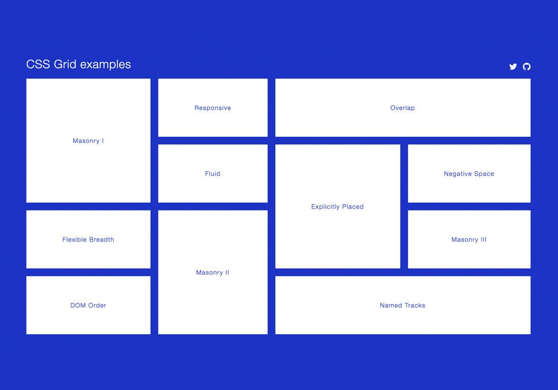 CSS Grid Showcase