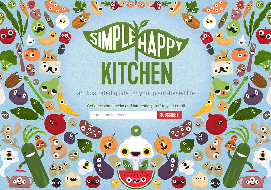 Simple Happy Kitchen