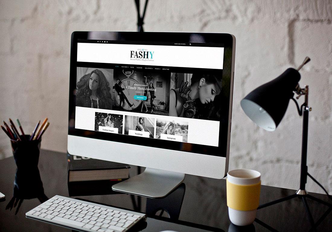 Fashy – WordPress Fashion Blog Theme