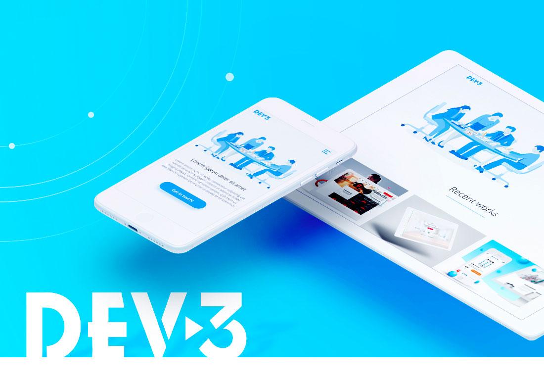 Creative web agency DEV-3