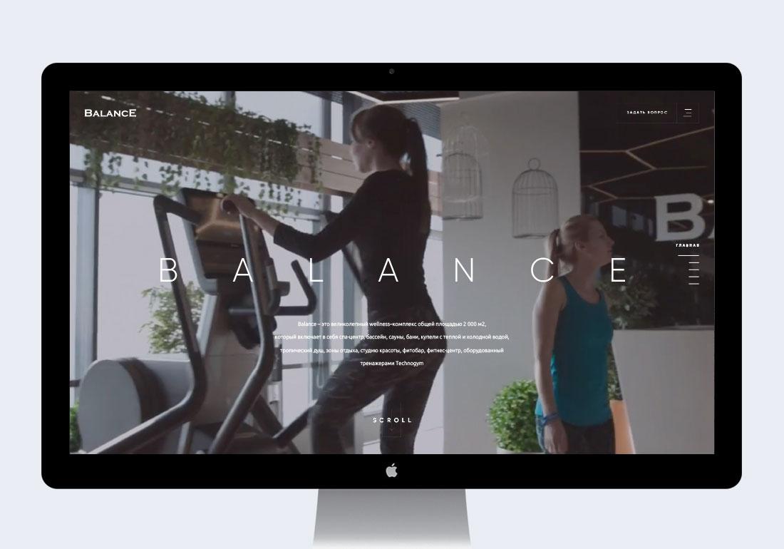 Balance. Wellness center.