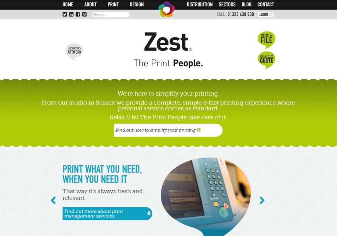Zest, The Print People
